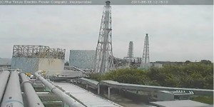 Fukushima reactor site engulfed by steam