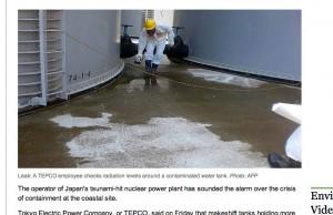 Fukushima leak