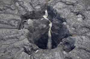 Florida sink hole opens up accidently