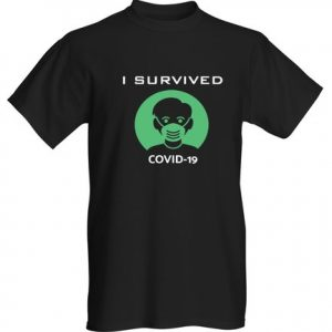 I survived COVID19 GREEN