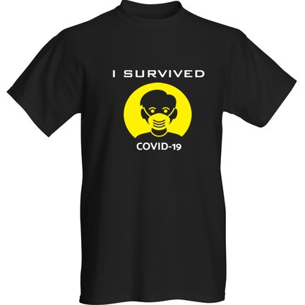I survived COVID19 YELLOW