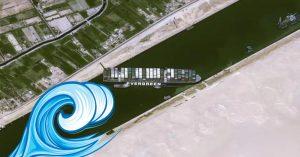 The Suez Canal blockage theories & ideas
